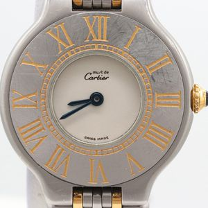 Women Cartier 18K Yellow and Stainless Steel Wristwatch for Sale in Washington, DC