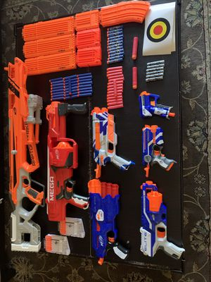 Nerf Gun Collection. Rarely used. for Sale in Las Vegas, NV