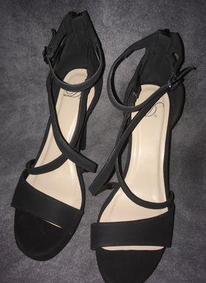 Black high heels size 9 for Sale in Phoenix, AZ