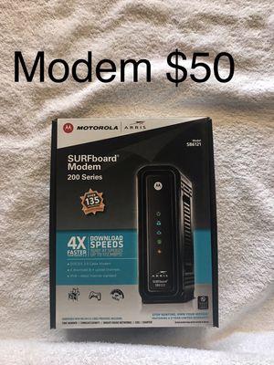 Motorola modem for Sale in Los Angeles, CA