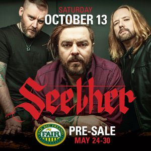 Seether concert tickets at Fresno Fair- 10/13/18 for Sale in Sanger, CA