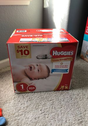 Huggies size 1 for Sale in Reedley, CA