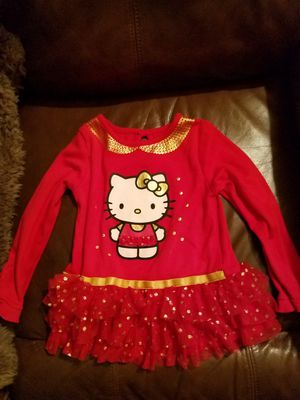 3t hello kitty red dress never worn for Sale in Bakersfield, CA