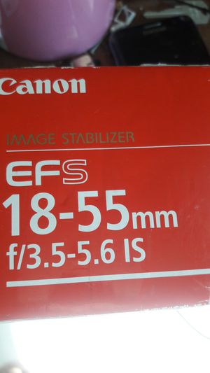 Canon 18 55 lenses for Sale in University City, MO