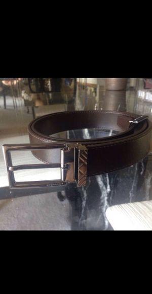 Authentic Men's Burberry Belt for Sale in San Antonio, TX