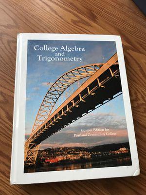 College Algebra and Trigonometry Textbook for Sale in Hillsboro, OR