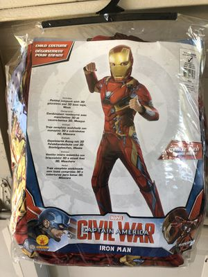 Small Deluxe Iron Man Halloween Costume (Check Out All My Other Halloween Costumes!) for Sale in Carrollton, TX