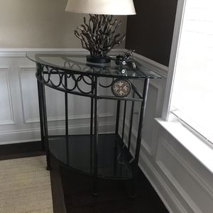 Glass Corner Table for Sale in Morrisville, NC