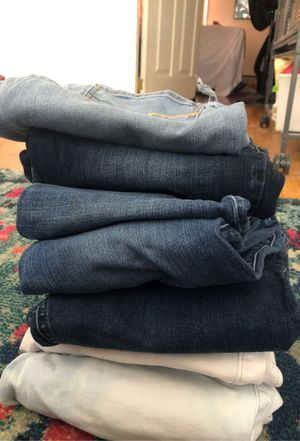 Lot of Woman's jeans for Sale in Brewer, ME