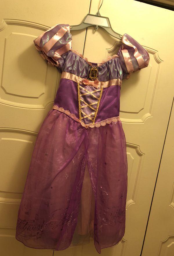 Disney Original Princess Rapunzel (Tangled) Dress. Size 7/8. Value of $85