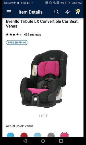 Evenflo tribute LX convertible car seat for Sale in Phoenix, AZ