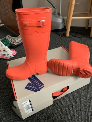 Hunter rain boots for Sale in Richardson, TX