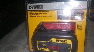 Batery dewalt FLEX VOLT LITHIUM ION 20 VOLTS 60 VOLT MAX 6.0 for Sale in Fort Wayne, IN