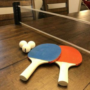 Brand New Portable Ping Pong Net set with 2 Franklin Paddles and 3 Ping Pong Balls. Available sets: Net + 2 Paddles + 3 Balls $35. Net ONLY $20 for Sale in Huntington Beach, CA