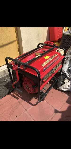 Generator 6000 watts with gas cans and extension cords for Sale in New York, NY