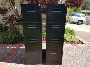 File Cabinet - 4 Drawer, Letter Size, w/ a Lock! for Sale in Martinez, CA