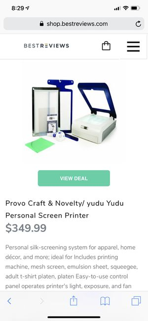 Yudu Personal Screen Printer for Sale, used for sale  Austin, TX