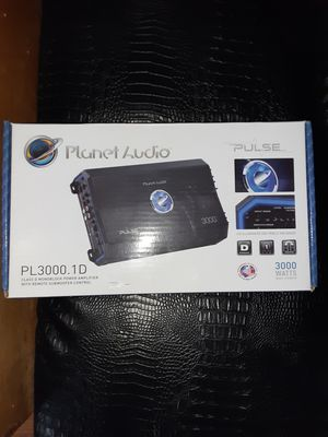 Brand new Planet audio amp for Sale in Eastpointe, MI