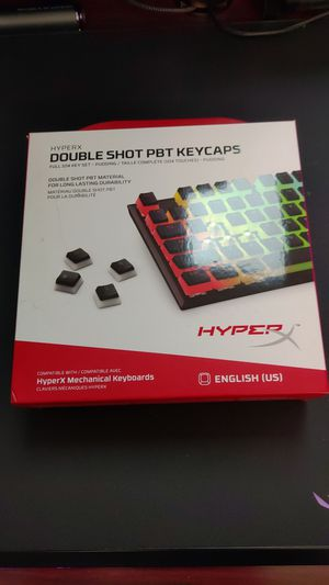 HyperX Hyper X Double Shot PBT Pudding Key Caps Keycaps for Sale in Alhambra, CA