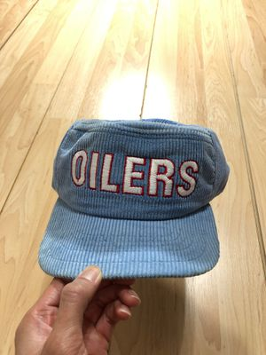 Vintage Oilers Corduroy Hat for Sale in Houston, TX