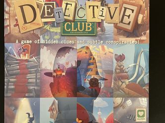 Detective Club Board Game for Sale in Gaithersburg,  MD