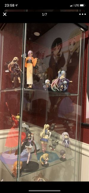 anime figures no box for Sale in Rancho Cucamonga, CA