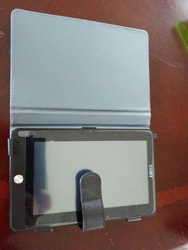2 tablets one with case one without