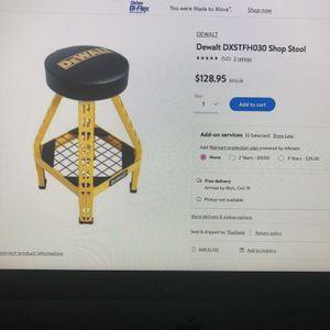 Dewalt Shop Stool Brand New for Sale in Spring, TX