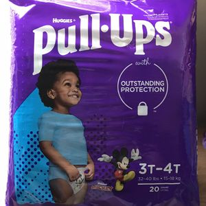 Huggies Pull Ups Diapers for Sale in Lowell, MA
