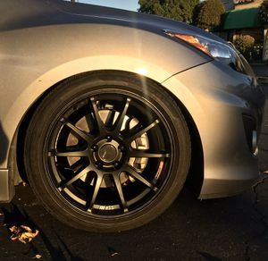SSR GTV02 5x114.3 18x9+45 (for Trade) for Sale in Chino Hills, CA