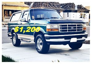 🎁🎁One Owner 1996 Ford Bronco 🎁🎁 for Sale in Garrison, MD