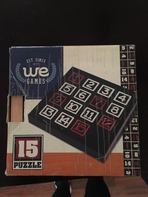 25 puzzle game for Sale in Charlotte, NC