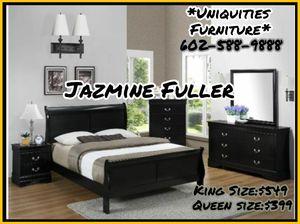 King size 4 piece bedroom set COLOR CHOICE for Sale in Glendale, AZ