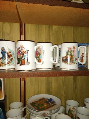 Norman Rock well mugs for Sale in Pittston, PA