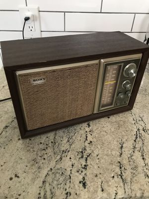 Vintage working Sony Radio for Sale in Tampa, FL