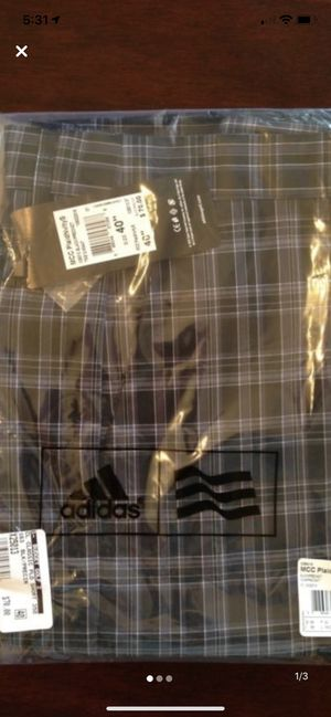 Adidas golf shorts size brand new for Sale in West Hollywood, CA