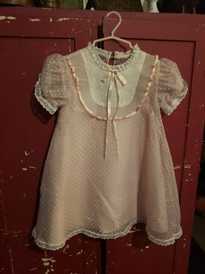 Vintage 1977 childs easter dress 6x for Sale in Columbus, OH