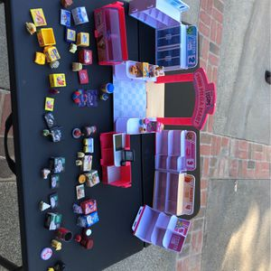 Shopkins Store And Play Food for Sale in Norco, CA