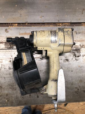 ET&F nail gun for Hardiplank into steel studs for Sale in Tigard, OR