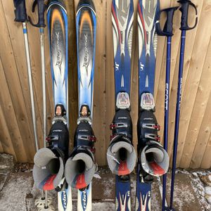 ROSSIGNOL & K2 Skis/bindings/boots /poles for Sale in Woburn, MA