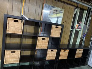 ikea shelves , baskets storage for Sale in Fremont, CA