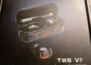 TWS. V7 BLUETOOTH WIRELESS EARBUDS for Sale in Pensacola, FL
