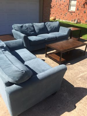 Couches, Living room set, coffee table, end tables for Sale in DW GDNS, TX