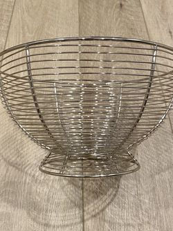Williams-Sonoma wire fruit basket for Sale in Portland,  OR