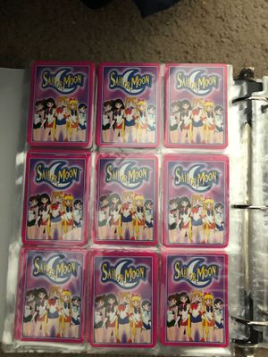 Sailor moon cards for Sale in Bothell, WA