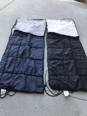 Two sleeping bags with free 6 man tent for Sale in Rancho Cucamonga, CA