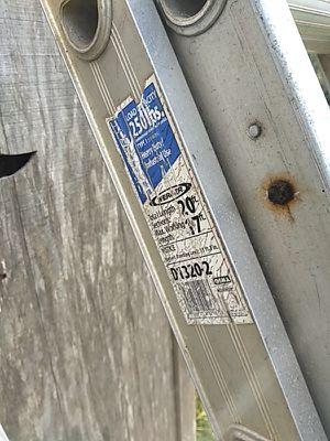 20' ladder for Sale in Evesham Township, NJ