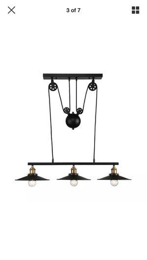 Industrial 3 lamp light billiard kitchen for Sale in VINT HILL FRM, VA