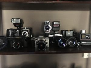 Vintage camera collection for Sale in Oakland, CA