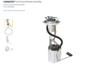 Carquest fuel pump for sale for Sale in Austin, TX